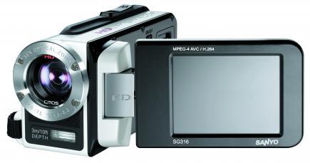 sanyo xacti dmx wh1 LCD gialla