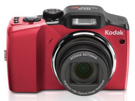 kodak easyshare z915 fronte red