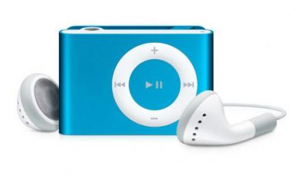 apple ipod shuffle 1gb blue