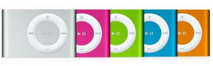 linea completa apple ipod shuffle 1gb