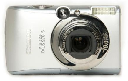 canon digital ixus 970 is fronte