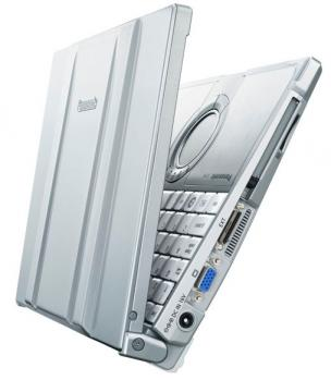 panasonic toughbook executive cf t8 fronte