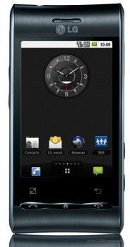 lg gt540 fronte black