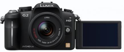panasonic lumix dmc-g2 LCD aperto