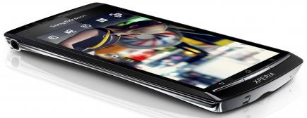 sony ericsson xperia arc disteso