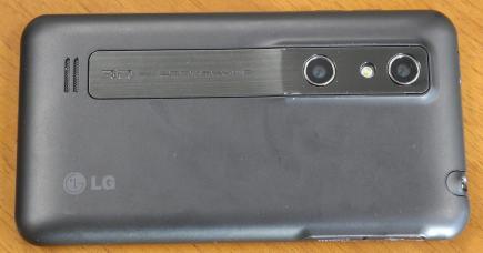 lg optimus 3d p920 live lato destro