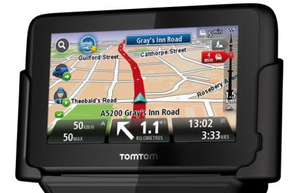 TomTom PRO 9150 TRUCK: Vista Frontale Base