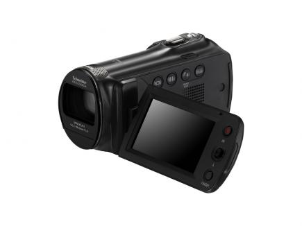 Samsung SMX-F70BP: Vista 3/4 Frontale Display