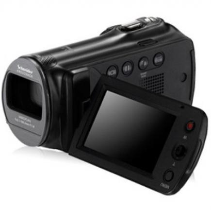 Samsung SMX-F70BP: Vista 3/4 Frontale Display Grey