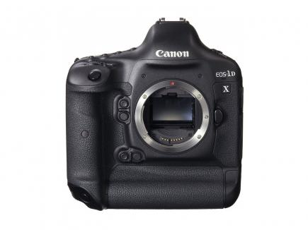 Canon EOS-1D X: Vista Frontale 1