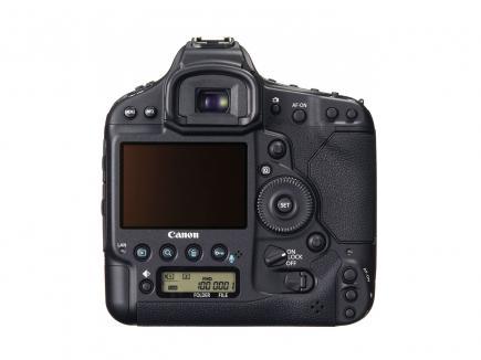 Canon EOS-1D X: Vista Posteriore