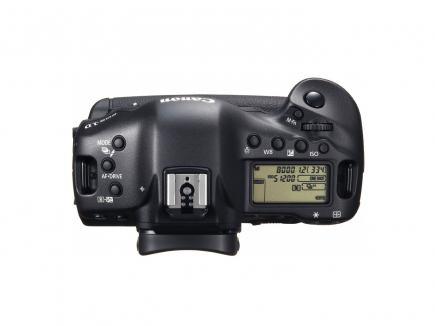 Canon EOS-1D X: Vista Superiore