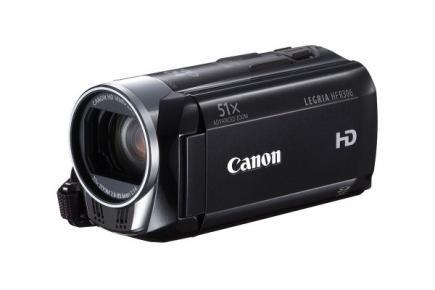 Canon LEGRIA HF R306: vista 3/4 frontale black