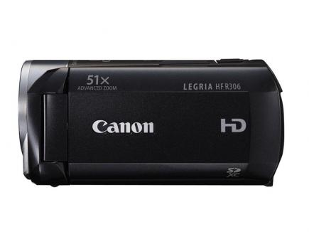 Canon LEGRIA HF R306: vista laterale black