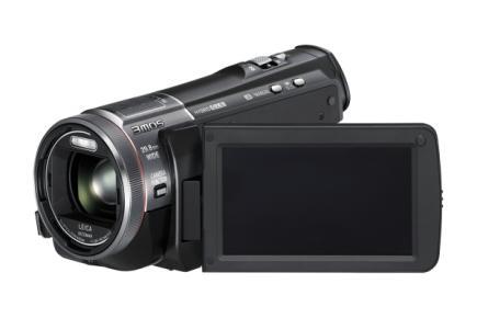 Panasonic HC-X900: vista display