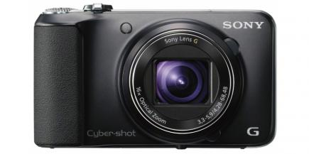 Sony Cyber-Shot DSC-HX10V: vista frontale