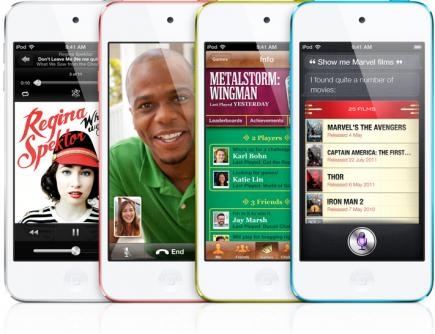 Apple iPod Touch 5G: vista frontale