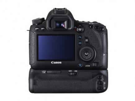 Canon EOS 6D: vista posteriore