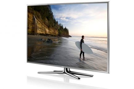 Samsung UE55ES6900Q: vista 3/4 sinistra