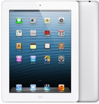 apple ipad 4 fronte e retro white