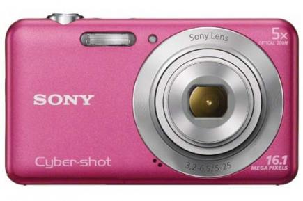sony cyber-shot dsc-w710 fronte rosa