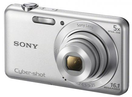 sony cyber-shot dsc-w710 3/4 silver