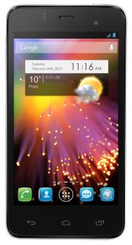 alcatel one touch star 6010d fronte black