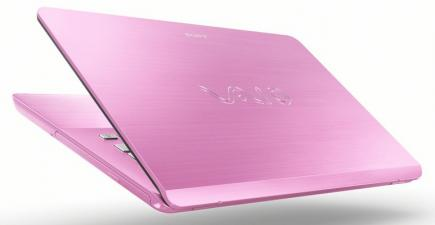 sony vaio fit 14e retro pink