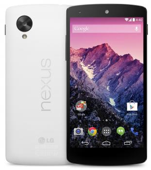 lg nexus 5 white