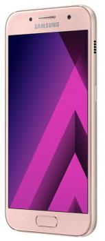 samsung galaxy a3 2017 3/4 Peach Cloud