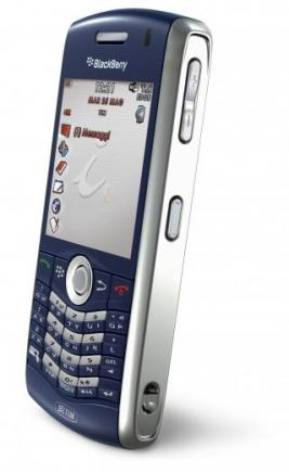 blackberry pearl 8120 lato sinistro