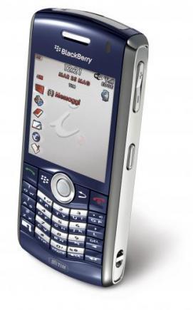 blackberry pearl 8120 lato sinistro