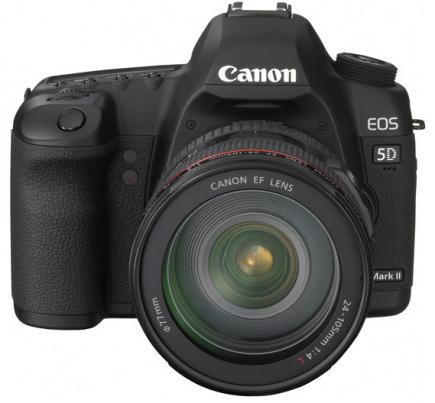 canon eos 5d mark ii fronte