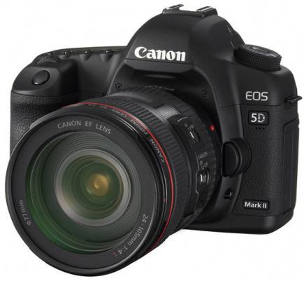 canon eos 5d mark ii 3/4