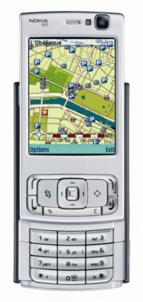 nokia n95 in visione orizzontale