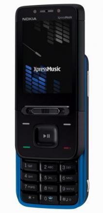 nokia 5610 xpressmusic aperto blu