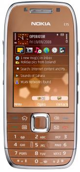 nokia e75 fronte copper