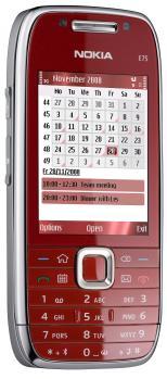 nokia e75 3/4 red