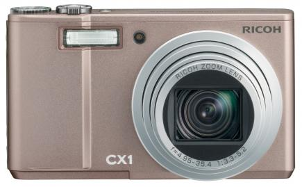 ricoh cx1 fronte pink