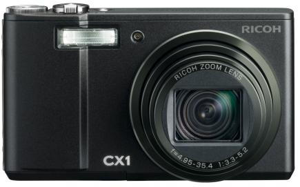 ricoh cx1 fronte black