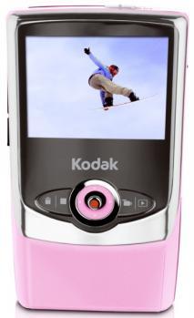 kodak zi6 fronte pink