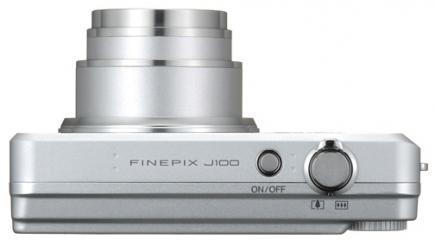 fujifilm finepix j100 top silver
