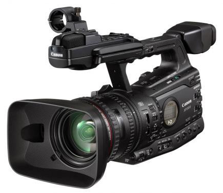 canon fx300 3/4 sinistra