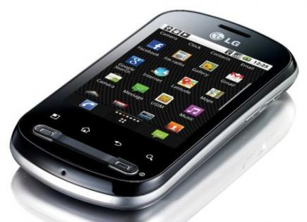 lg optimus life disteso