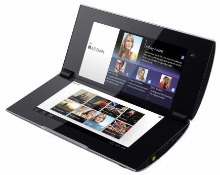 sony tablet p 3/4 sinistra