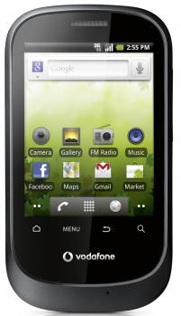 vodafone smart android fronte black