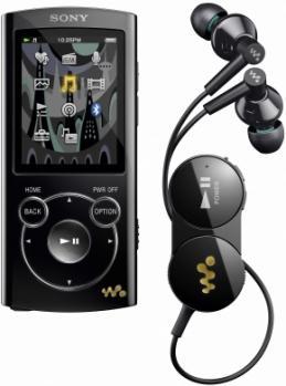 Sony NWZ-S765BK: Vista Frontale
