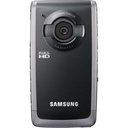 Samsung HMX-W200TP: Vista Frontale