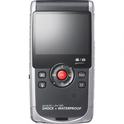 Samsung HMX-W200TP: Vista Posteriore