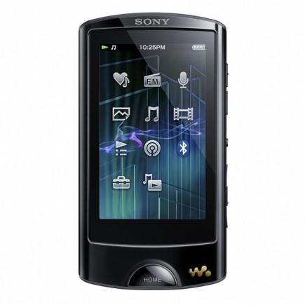 Sony NWZ-A867: vista frontale